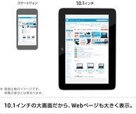 HP Omni10 10.1インチの大画