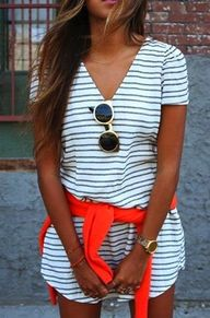 Stripes and color.