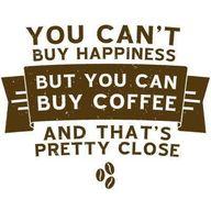 Coffee makes us happ