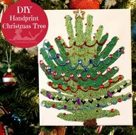 DIY Handprint Christ