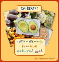 30 ideas: avocado, q