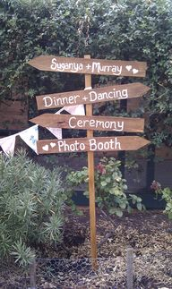Wooden Wedding Direc