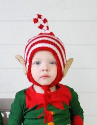 Baby Elf Hat #adorab
