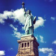 Liberty Island in Ne