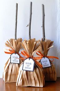 Witch's brooms treat