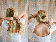 Diy knotted pony tra