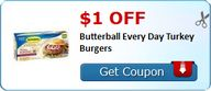 $1.00 off Butterball