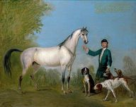 Horse with Groom and