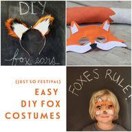 easy diy fox costume