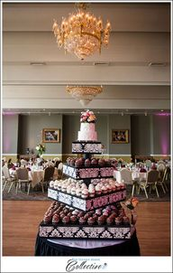 Cupcake Wedding Disp