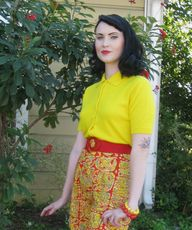 1950s Bright Yellow