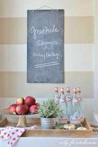 Rustic Fall Kitchen-