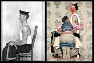 1944: Norman Rockwel