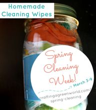 Homemade Cleaning Wi