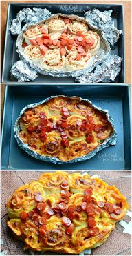 Easy Football Pizza