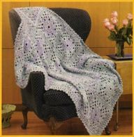 Lacey Blues Throw -