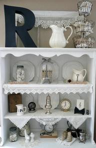 Display shelves all