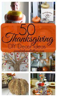 50 Thanksgiving DIY