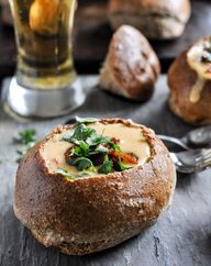 Beer Cheese Soup in