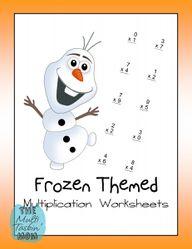 Frozen Themed Math W
