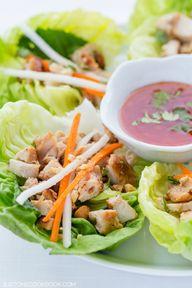 Thai Chicken Lettuce