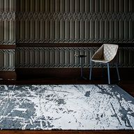 'Scratched' rug by S...