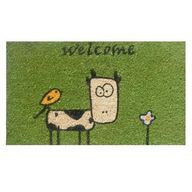 Cute Cow Green Coir/