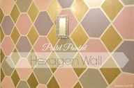 Pastel Painted Hexag
