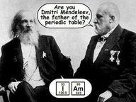Tee hee Mendelev fun...