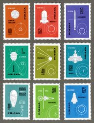 Space Stamps — Polan...