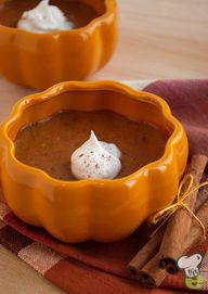Pumpkin Custards Rec