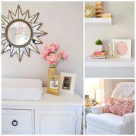 Pink and Gold Nurser