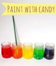Paint with candy