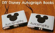 DIY Disney Autograph