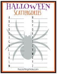 Halloween Scattergor