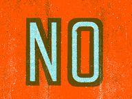 No - by Mikey Burton