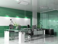 Modern green office