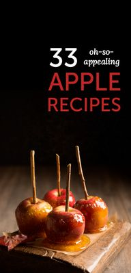 33 apple recipes tha