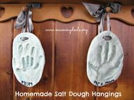 Salt Dough Hangings