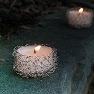 Wire Crochet Tealigh