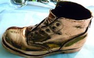 A 100 years old shoe...