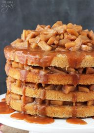 Caramel Apple Layer