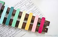 DIY xylophone (via h