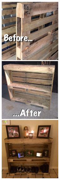 Pallet entry table.