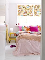 pink + gold bedroom
