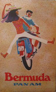 Vintage Pan Am Poste