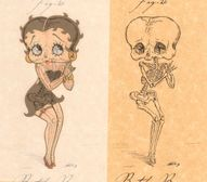 Skeletal Cartoon Cha