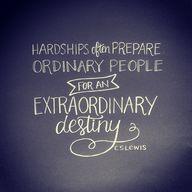 Hardships often prep