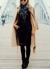 long beige #coat...