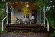 Pretty little porch